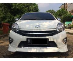 Toyota Agya G TRD matic 1.0 thn 2017 warna Putih