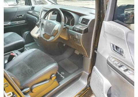 Toyota Vellfire 2015 Z Golden Eyes II Black Full Original