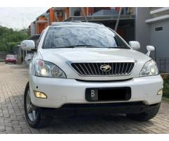 Toyota Harrier 2.4G L-Premium White On Beige 2011/2012