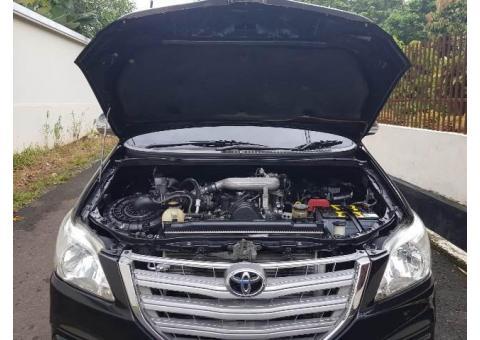 Toyota inova G diesel 2.5 manual th 2014/2015 istimewa