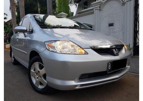 Honda City Idsi AT Th 2005 Satellite Silver