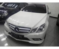 Mercedes Benz E250 Coupe 2012