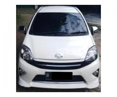 Toyota Agya 1.0 S TRD Matic Th 2015 putih