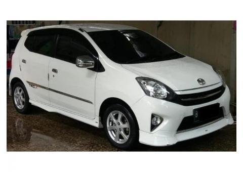 Toyota Agya 1.0 S TRD Matic Th 2015 putih