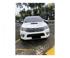 Toyota Hilux Double Cabin 4x4 G 2017  Warnah Putih