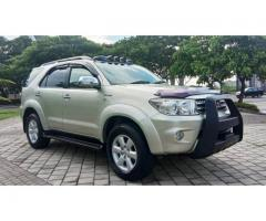 Toyota Fortuner G lux 2.7 AT 2010 DP minim