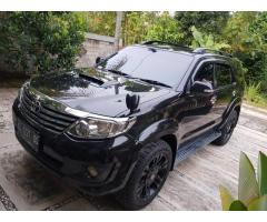 Fortuner G 2.5 matic 2012