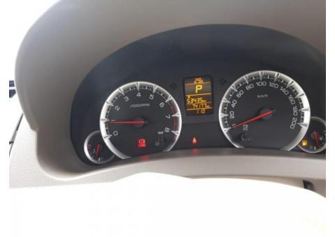 Dijual suzuki Ertiga GX 2013 warna putih km 74rbuan