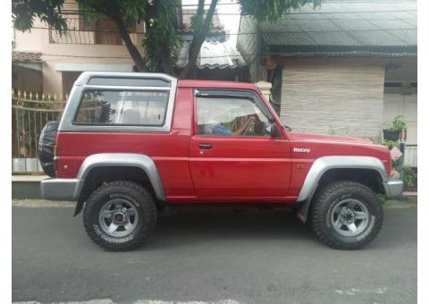 Daihatsu Taft Rocky 4x4 independent thn 1996 full modifikasi