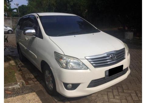 Toyota Innova DieseL tipe G matic thn 2012 akhir