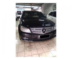 Mercedes benz Avangard th 2011 hitam original cat