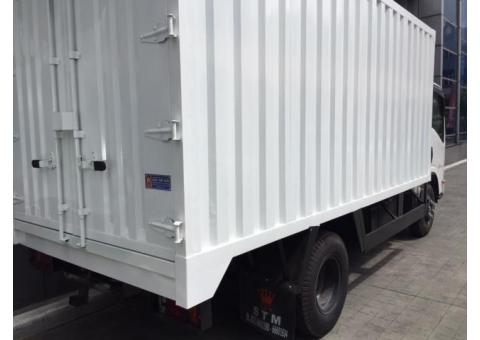 Isuzu NMR 71 Box Besi dan Aluminium ( Khusus Area Jadetabek )