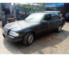 Mercy C 180  matic thn 1995 hitam metalik