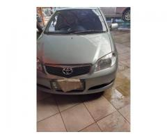 Toyota Vios G Tahun 2007 warna silver metalik manual