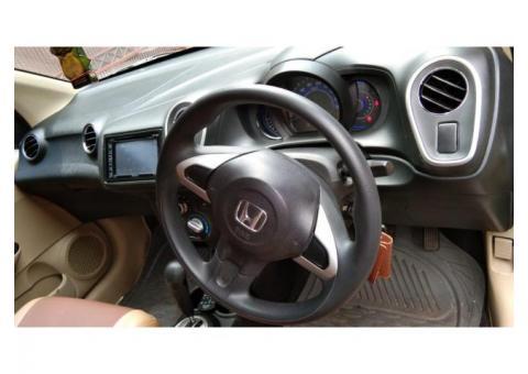 Honda Mobilio E Cvt Matic Tahun 2014 Silver Metalik bodi mulus DP5