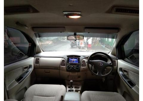 Toyota Innova E upgrade type G matic Tahun 2011