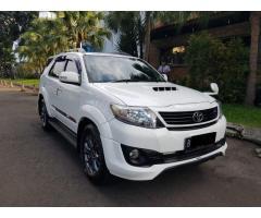 Toyota fortuner Vnt TRD metic 2015 istimewa tangan 1