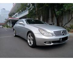 Mercedes Benz CLS 350 Th 2006 silver on black