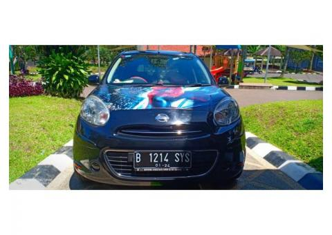 Jual Nissan March 1.2MT Hitam Racing