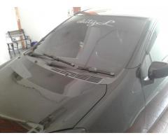 Mobil bekas Ayla Flp thn 2014 plat KT warna hitam dijual harga 90 juta bisa nego