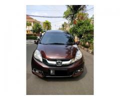 Honda mobilio type E matik Th 2014 Warna Merah metalik istimewa