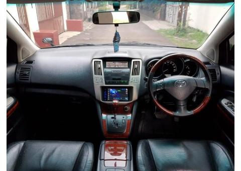 Toyota harrier 2.4 L prem 2007 power back door