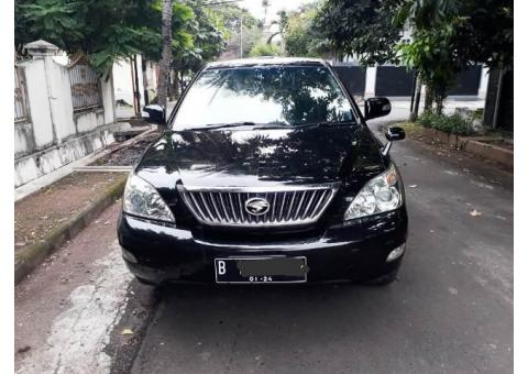 Harrier LPrem Hitam thn 2008 Good ConditioN
