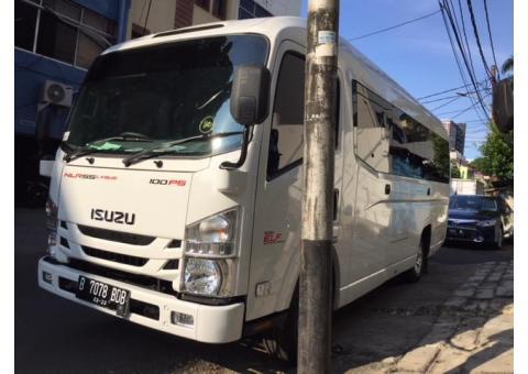 Isuzu Elf Nlr Microbus Long 20 Kursi New Armada ( Jakarta Pusat )