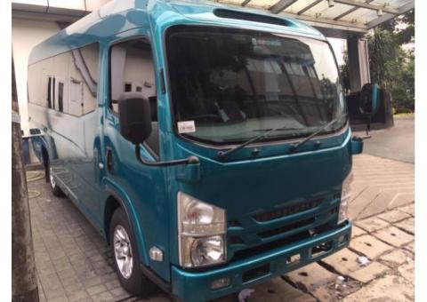 isuzu Elf Nlr Minibus long 20 seat Executive new armada Tahun 2019