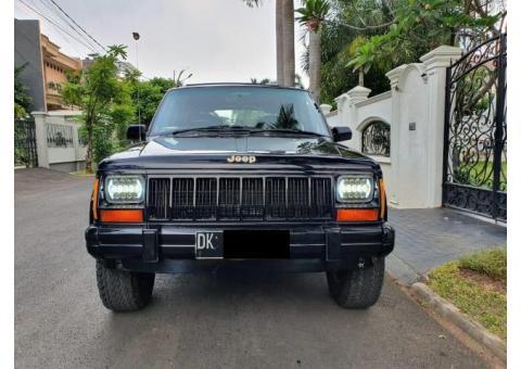 Jeep Cherokee XJ Limited 4.0 AT Tahun 1994 Kondisi Biasa Aja