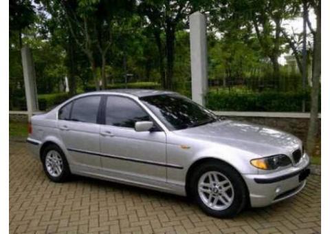 BMW 318i E46 2002 silver