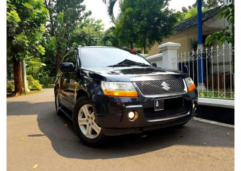 Suzuki Grand Vitara 2.0 JLX AT Th 2007 Hitam Metalik
