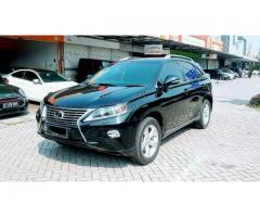 Lexus RX 270 Facelift 2012 Hitam