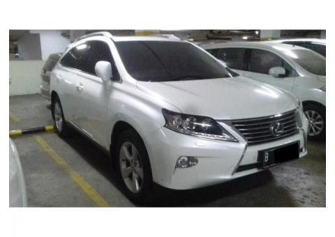 Toyota lexus RX270 tahun 2011 facelift