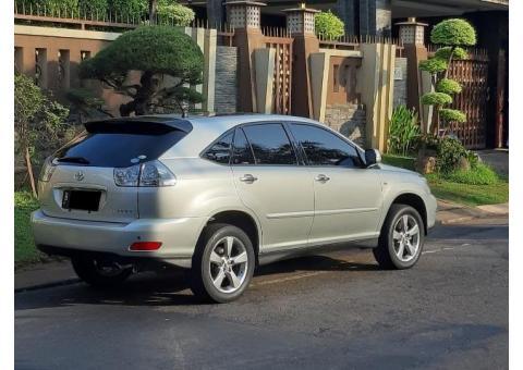 Toyota Harrier 2007 L Premium Silver