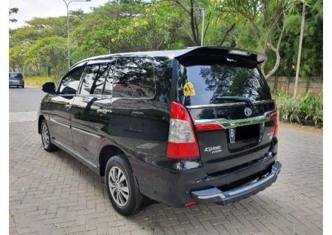 Toyota kijang inova V 2.5 diesel manual th 2015 antik