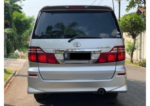 Toyota Alphard 2.4 ASG Full Spec Mewah Nyaman Siap Pakai