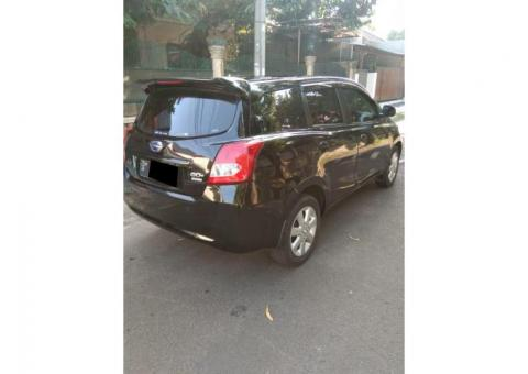 Datsun Go panca 2015 hitam