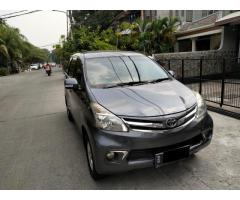 Toyota avanza type G manual 2011/2012 sdh New model