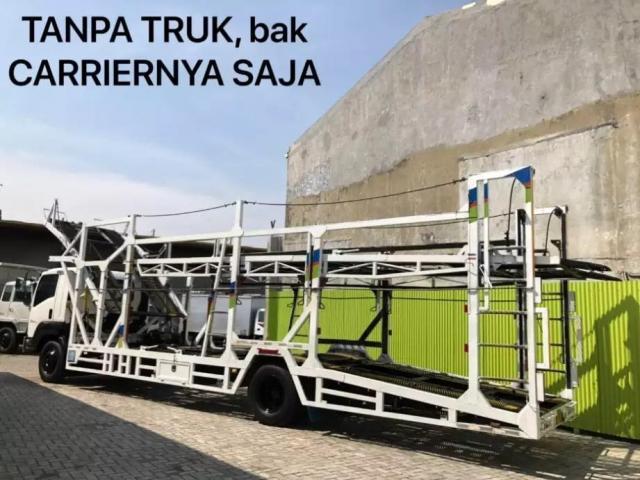 bak carrier tanpa truck mobil 10mtr untuk 6roda 10roda fuso isuzu hino mulus & terawat