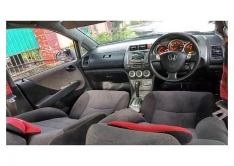 Honda City Vtec matic Tahun 2006 warna abu2 metalik