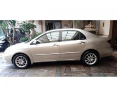 Toyota Altis G Manual 2006