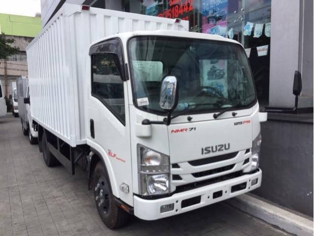 isuzu nmr 71 truck cdd box besi tahun 2019 unit baru