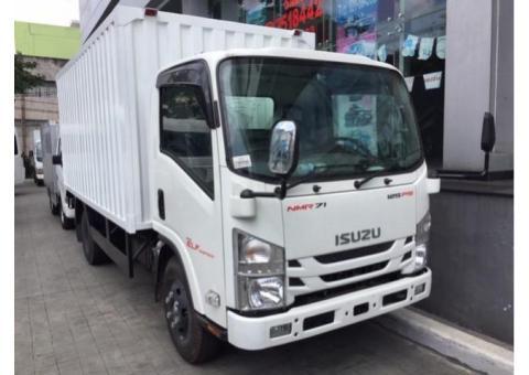 Isuzu NMR 71 Truck CDD Box Besi Tahun 2019 ( Unit Baru )