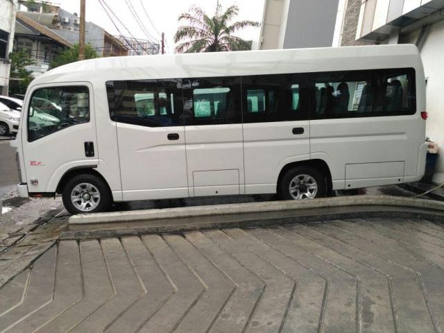 isuzu elf nlr 55 blx microbus 20 seat new armada tahun 2019 unit baru