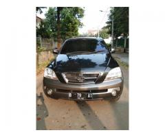 Kia Sorento 4wd built up matic 2003 hitam met tgn 1