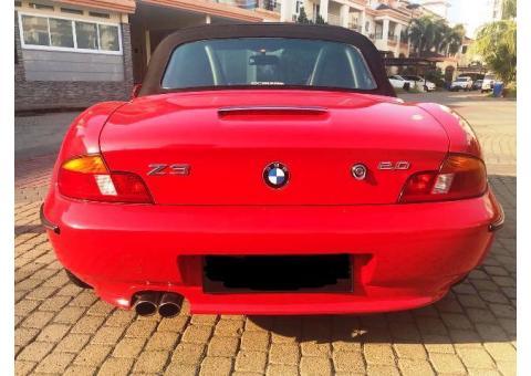 BMW Z3 TH 2000 Tgn 1 dari Baru