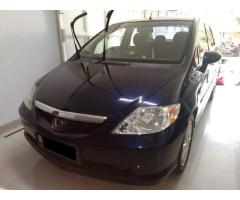 Honda city idsi manual Tahun 2004 Warna biru tua metalik