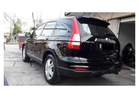 Honda CRV 2.4 A/T 2011 facelift hitam istimewa