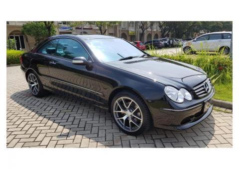 Mercedes Benz CLK 240 Hitam